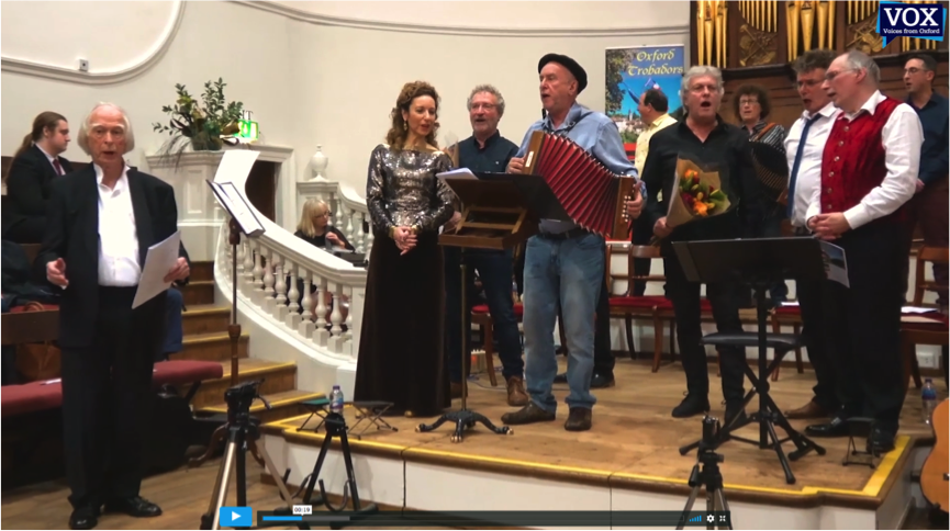 Link to joint concert Oxford Trobadors with Nadau and Peiraguda: